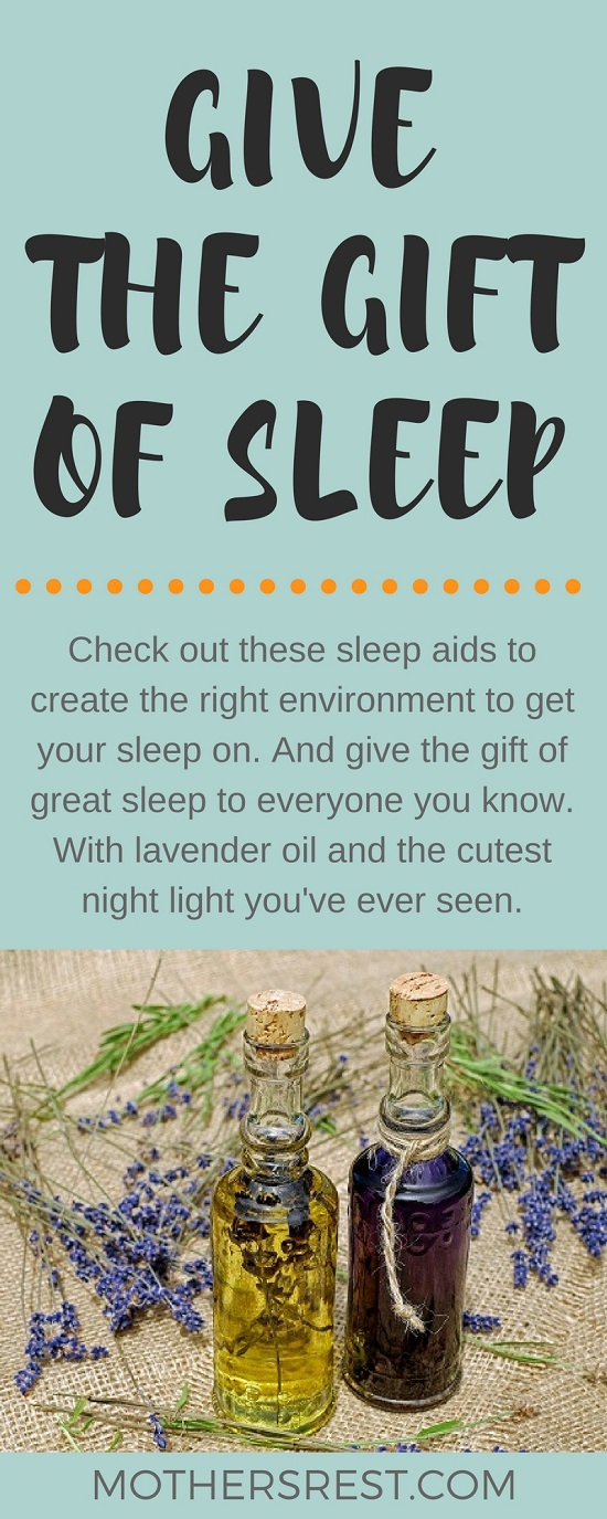 Sleep aids to create the right environment to get your sleep on - including lavender oil and the cutest night light you've ever seen